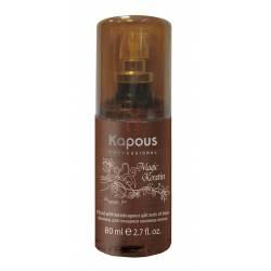 Флюид для секущихся кончиков волос с кератином Kapous Professional Magic Keratin Fluid 80 ml