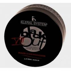 Паста для выравнивания вьющихся волос Kleral System Black Out №01, 100 ml