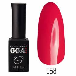 Гель-лак GGA Professional 10 мл. №058