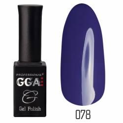 Гель-лак GGA Professional 10 мл. №078