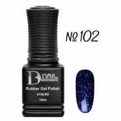 Гель-лак BD Nail Rubber Gel Polish №102