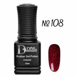 Гель-лак BD Nail Rubber Gel Polish №108