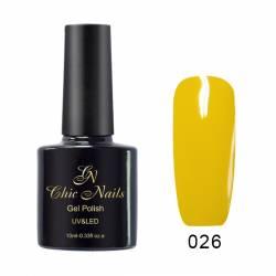 Гель-лак Chic Nails 10 мл. №026