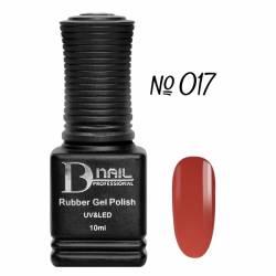 Гель-лак BD Nail Rubber Gel Polish №017