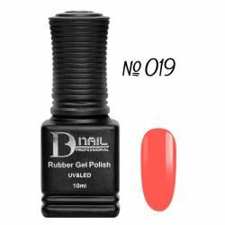Гель-лак BD Nail Rubber Gel Polish №019