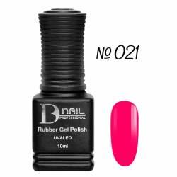 Гель-лак BD Nail Rubber Gel Polish №021