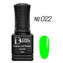 Гель-лак BD Nail Rubber Gel Polish №022