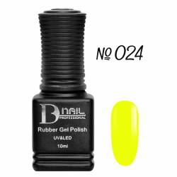 Гель-лак BD Nail Rubber Gel Polish №024