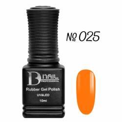 Гель-лак BD Nail Rubber Gel Polish №025