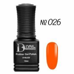 Гель-лак BD Nail Rubber Gel Polish №026