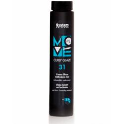 Крем для вьющихся волос Dikson Move-Me 31 Smoothy Curly Glaze 250 ml