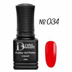 Гель-лак BD Nail Rubber Gel Polish №034