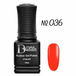 Гель-лак BD Nail Rubber Gel Polish №036