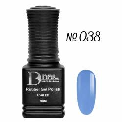 Гель-лак BD Nail Rubber Gel Polish №038