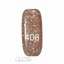 Гель-лак Gloss 15 мл. №408