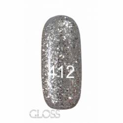 Гель-лак Gloss 15 мл. №412