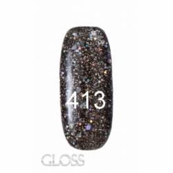 Гель-лак Gloss 15 мл. №413