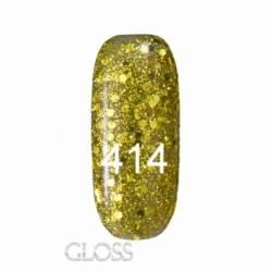 Гель-лак Gloss 15 мл. №414