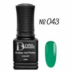 Гель-лак BD Nail Rubber Gel Polish №043