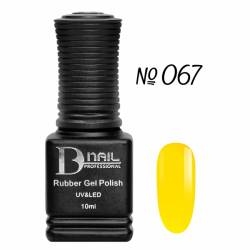 Гель-лак BD Nail Rubber Gel Polish №067