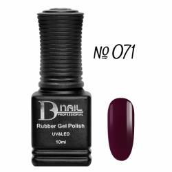 Гель-лак BD Nail Rubber Gel Polish №071