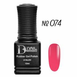 Гель-лак BD Nail Rubber Gel Polish №074