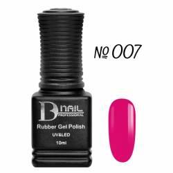 Гель-лак BD Nail Rubber Gel Polish №007