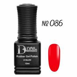 Гель-лак BD Nail Rubber Gel Polish №086