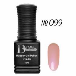Гель-лак BD Nail Rubber Gel Polish №099