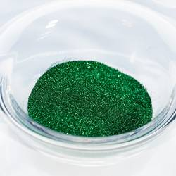 Гліттер №9 Зелений смарагд, розмір-01 / 2.5 гр.
