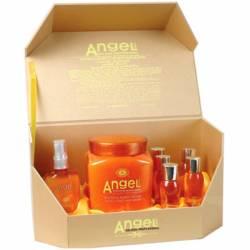 СПА морских глубин маска для волос Angel Professional Deep-Sea SPA Hair Mask (1 L+ 5х50 ml + 80 ml)