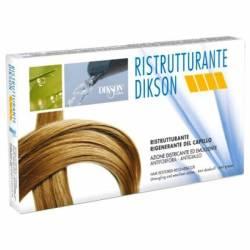 Dikson RISTRUTTURANTE Реструктурирующий комплекс в ампулах (керотин, протеины шелка-поврежденные волосы, воспаленная кожа головы) 12 амп. х 12 мл.