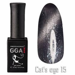 Гель-лак GGA Professional Кошачий Глаз 10 мл №15