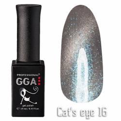 Гель-лак GGA Professional Кошачий Глаз 10 мл №16