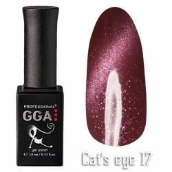 Гель-лак GGA Professional Кошачий Глаз 10 мл №17