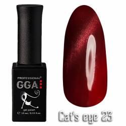 Гель-лак GGA Professional Кошачий Глаз 10 мл №23