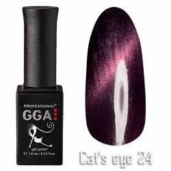 Гель-лак GGA Professional Кошачий Глаз 10 мл №24