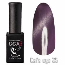 Гель-лак GGA Professional Кошачий Глаз 10 мл №25