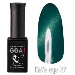 Гель-лак GGA Professional Кошачий Глаз 10 мл №27