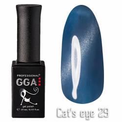 Гель-лак GGA Professional Кошачий Глаз 10 мл №29