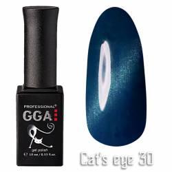 Гель-лак GGA Professional Кошачий Глаз 10 мл №30