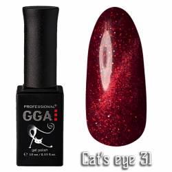 Гель-лак GGA Professional Кошачий Глаз 10 мл №31
