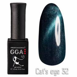 Гель-лак GGA Professional Кошачий Глаз 10 мл №32