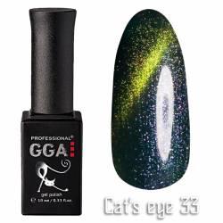 Гель-лак GGA Professional Кошачий Глаз 10 мл №33