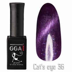 Гель-лак GGA Professional Кошачий Глаз 10 мл №36