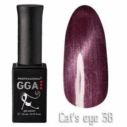 Гель-лак GGA Professional Кошачий Глаз 10 мл №38