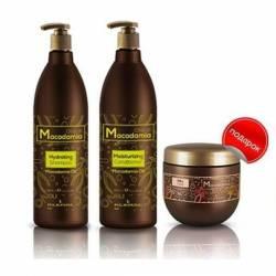 Набор с маслом макадамии Macadamia oil line 1000 мл. + 1000 мл. + 500 мл.