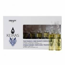 Ампулы против выпадения волос Dikson Keiras Trattamento Rinforzante 8x10 ml