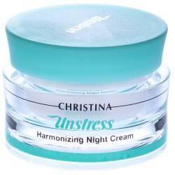 Гармонизирующий ночной крем для лица Christina Unstress Harmonizing Night Cream 50 ml