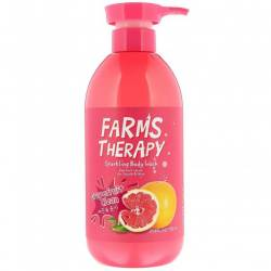 Гель для душа с экстрактом Грейпфрута Daeng Gi Meo Ri Farms Therapy Sparkling Body Wash Grapefruit 700 ml
